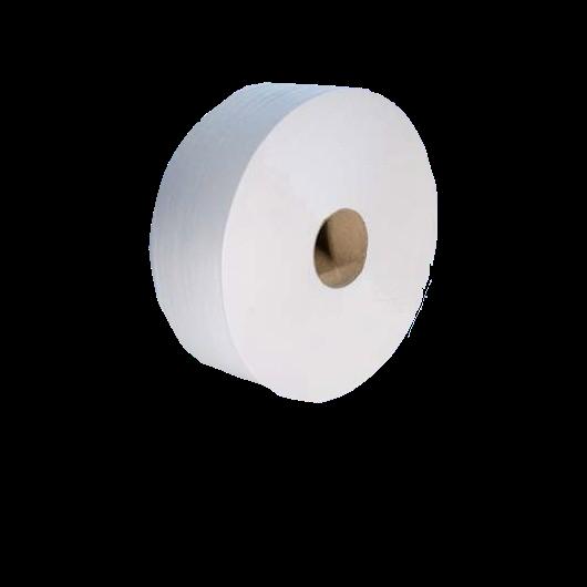 Papier toilette jumbo 2 plis gaufre colle.colis de 6.   ref01hl1600