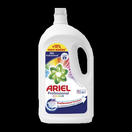 Ariel color professionnelle concentre 70 doses . bidon de 3.85 l   ref 766380