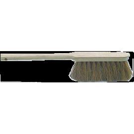 Balayette coco manche long bois 40 cm  ref 000614