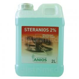Steranios 2pourcent .desinfectant a froid anios bidon de 2 l    ref 382062