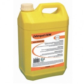 Degraissant desinfectant alimentaire  bidon de 5 l   ref ddm 710