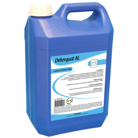 Spray desinfectant de surface deterquat bidon de 5 l   ref al 715