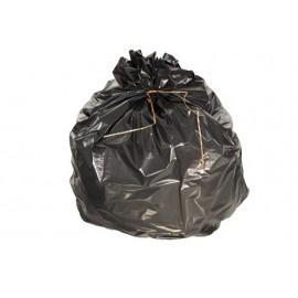 Carton de 200 sacs plastique 50 l bd noir 40µ   ref 5030
