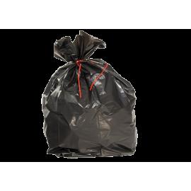 Carton de 500 sacs plastique 30l hd noir 14µ   ref 5520
