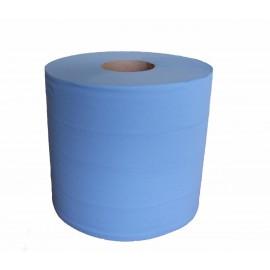 Bobine dévidage central 450 fts bleue. le colis de 6 . ref 550104