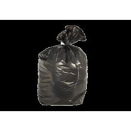 Carton de 500 sacs plastique  110l hd noir 18µ    ref 5271