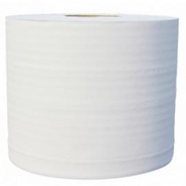 Bobine industrielle 1000 fts 2 plis blanc lisse pure ouate.colis de 2  ref530510