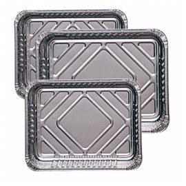 Recipients rectangulaires aluminium 32.2x26.2cm .  colis de 300 .  ref135.51