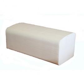 Essuie- main, pliage w, 22 x 35 cm, 2 plis pure ouate,colis de 3000 . ref 730100
