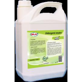 Detergent neutre non moussant bidon de 5 l  ref 233