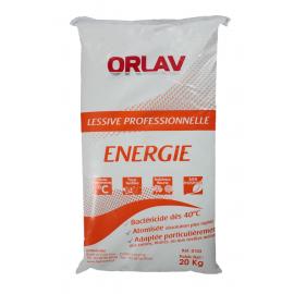 Sac de 20kg lessive linge super blanc -bio enzymatique, desinfectante   ref 103