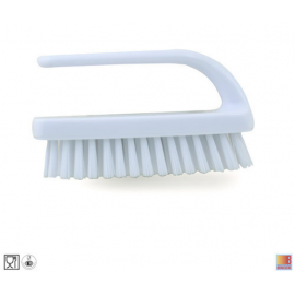 Brosse a ongles fibre blanche