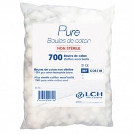 Sachet  de 700 boules  de coton   ref cot-718