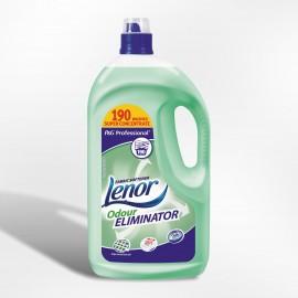 Assouplissant linge concentre lenor eliminateur d'odeur. bidon 3.8l ref 299085