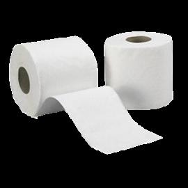 Papier toilette  144 coupons  2plis pure ouate.colis de 96 rouleaux   ref 408313