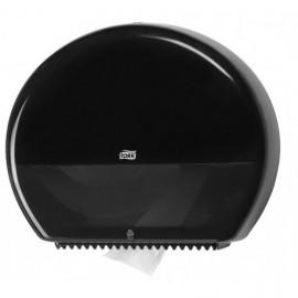 Distributeur papier toilette jumbo noir tork ref 554008