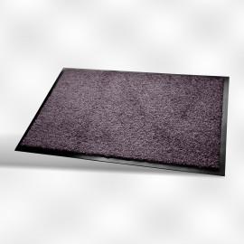 Tapis vinyl lavable int/ext 40 x 60 cm  gris souris   ref wc0030406