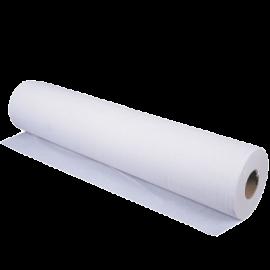 Drap d' examen pure ouate 60 x 34 cm 2 plis  blanc. carton de 12 rlx  ref 930640