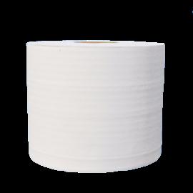 Bobine industrielle 1000fts 2 plis blanc lisse pure ouate.colis de 2  ref 530310